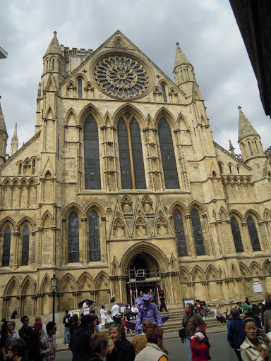 York Minster. From A Guide to Abbeys and Cathedrals in the UK