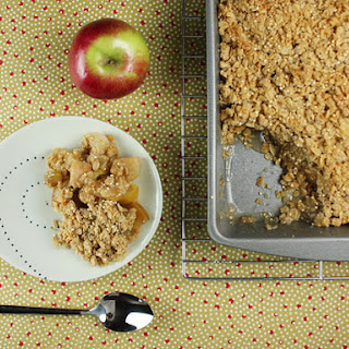 Dairy-Free Apple Crumble