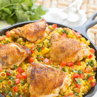 Spanish Chicken with Rice - Arroz con Pollo