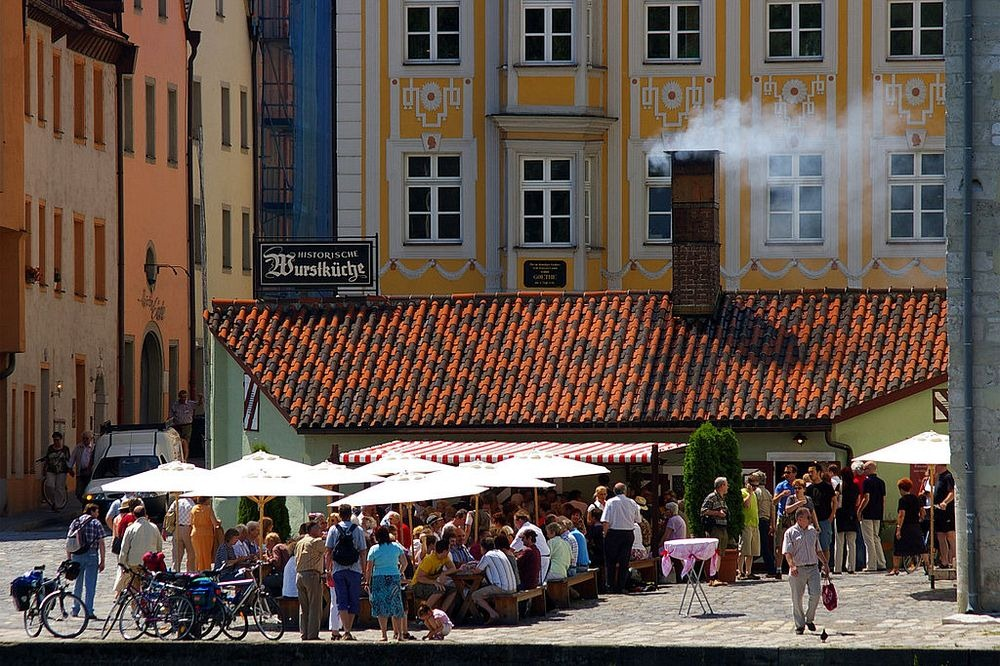 The 870-Year Old Historic Sausage Kitchen of Regensburg | Amusing ...