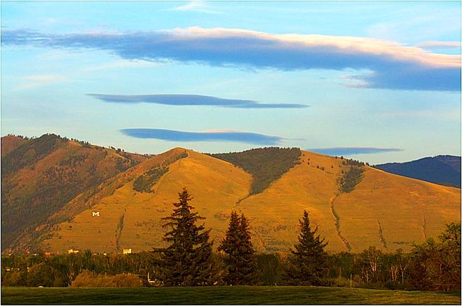 Mount Sentinel - Pretty Summer Evening. Photo by Tim Blodgett