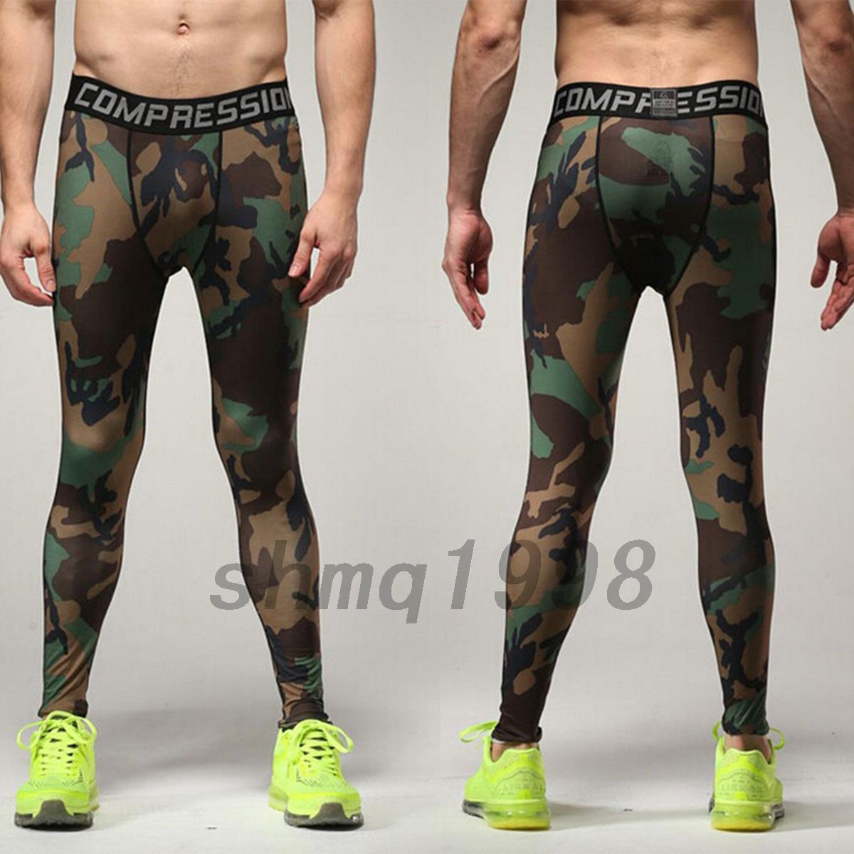 sport de compression pour homme imprim leggings pour. Black Bedroom Furniture Sets. Home Design Ideas