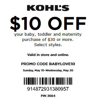 Get the latest Kohls promo codes FIRST! Don't miss out on a great deal! Get the latest deals and coupon codes from Kohls delivered right to your inbox. Be sure to come back to grab our in-store coupons as well. Sign up for our email newsletter and we'll send you updates on the most popular Kohl's coupons and recent additions to our site%(K).