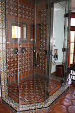 Photo: Hummingbird Nest Ranch -Tile Shower Simi Valley, CA