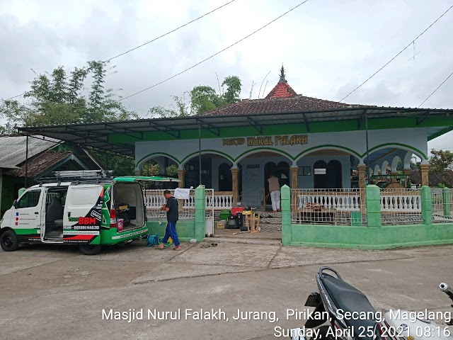 Kegiatan bersih masjid Nurul Falakh Jurang, Pirikan, Secang, Magelang