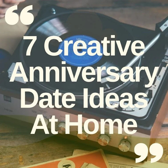 Creative anniversary date ideas