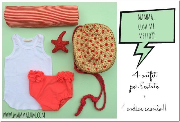 4 outfit per l'estate dei vostri bambini e iniziano le svendite!