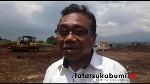 Joko Susilo selaku Pimpro (Pimpinan Proyek)PT Trans Jabar Tol (TJT)/ Foto Isep Panji (10/1/2019)