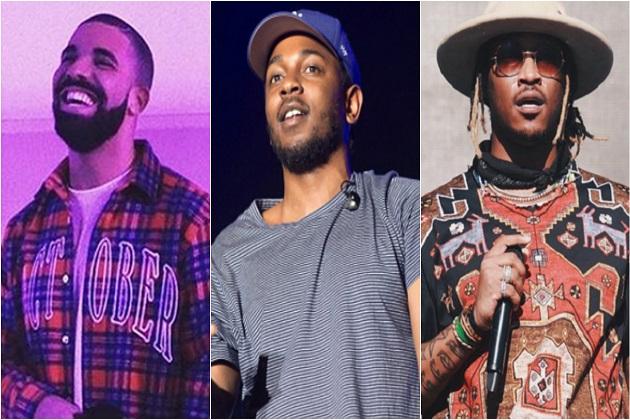 Kendrick Lamar, Drake Na Future Wameikamilisha 40% Ya Usikilizwaji Wa Hip Hop Kwa Mwaka 2017