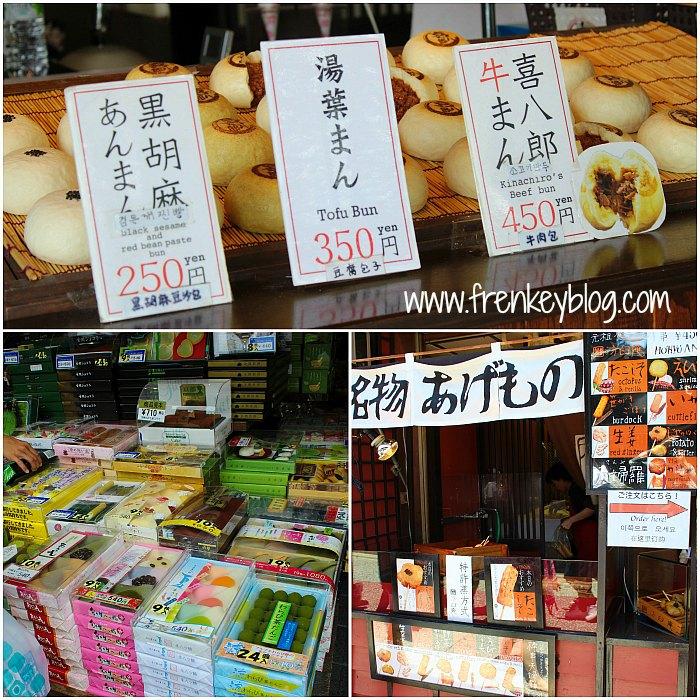 Kuliner di sekitar Kiyomizudera Temple