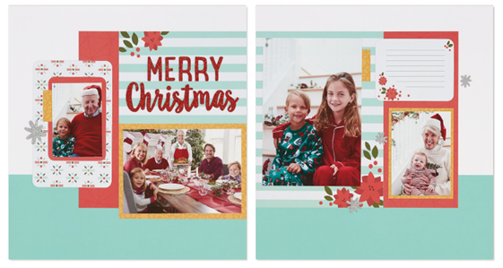 2016-11 Happy, Happy Christmas - layout 3