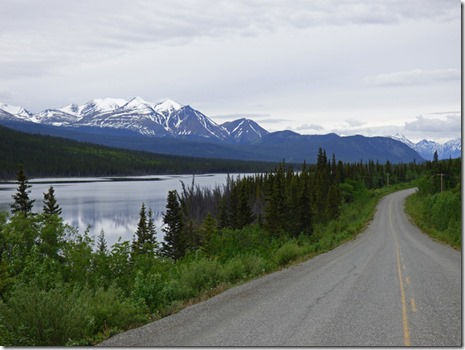 Lake near Tagish, Tagish Road, Yukon