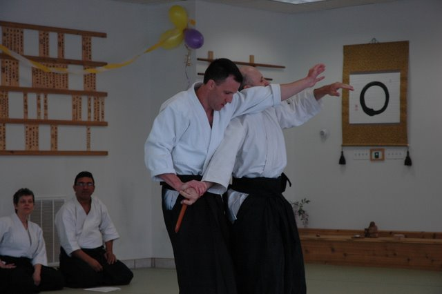Sensei Eric Strouse's Sandan test on Jukly 4th, 2009 - during Shihan Toyoda Memorial training