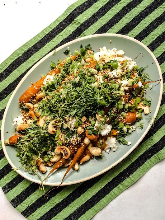 1 Gulerodspure, nye gulerødder, feta og cashewnødder - Mikkel Bækgaards Madblog.jpg