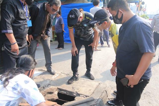 Pemkot Bekasi Memantau Kesiapan Perbaikan Jalan Agus Salim