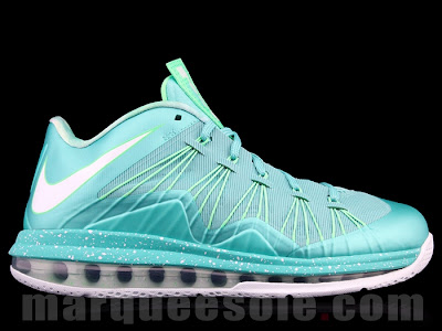 nike lebron 10 low gr green white 1 01 $165... this is how much it takes to own a pair of LeBron X Lows