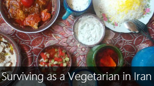 How to survive as a vegetarian in Iran?