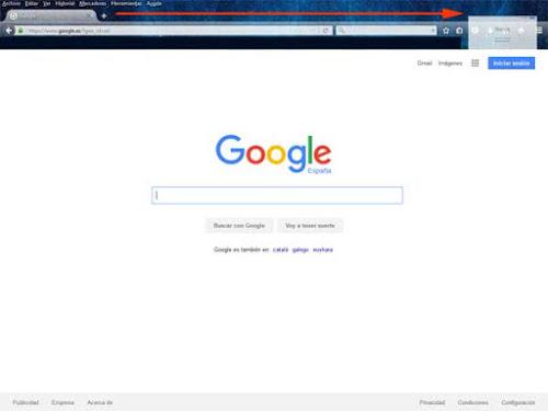 Google como página de inicio