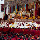 Massive religious gathering and enthronement of Dalai Lama's portrait in Lithang, Tibet. - l70.JPG