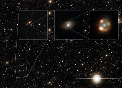 lente gravitacional da supernova tipo Ia