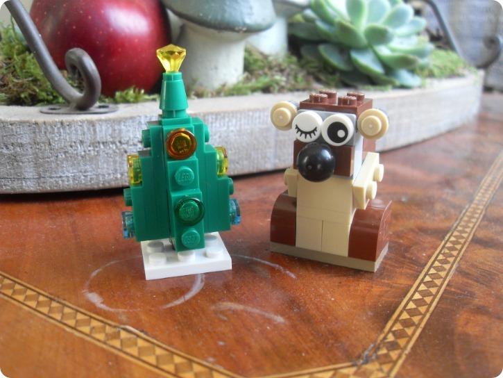 Julebyg fra Lego