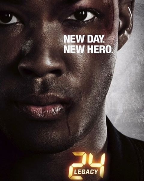 Fox's 24 Legacy New Poster and Trailer proclaims New Day, New Hero.