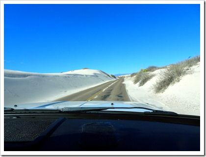 White Sands National Monument.