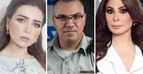 """كيف حاول متحدث """"جيش إسرائيل """" استفزاز نجوم العرب"""
