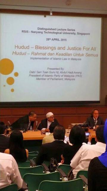 TG Haji Hadi Bicara Hudud Di Singapura