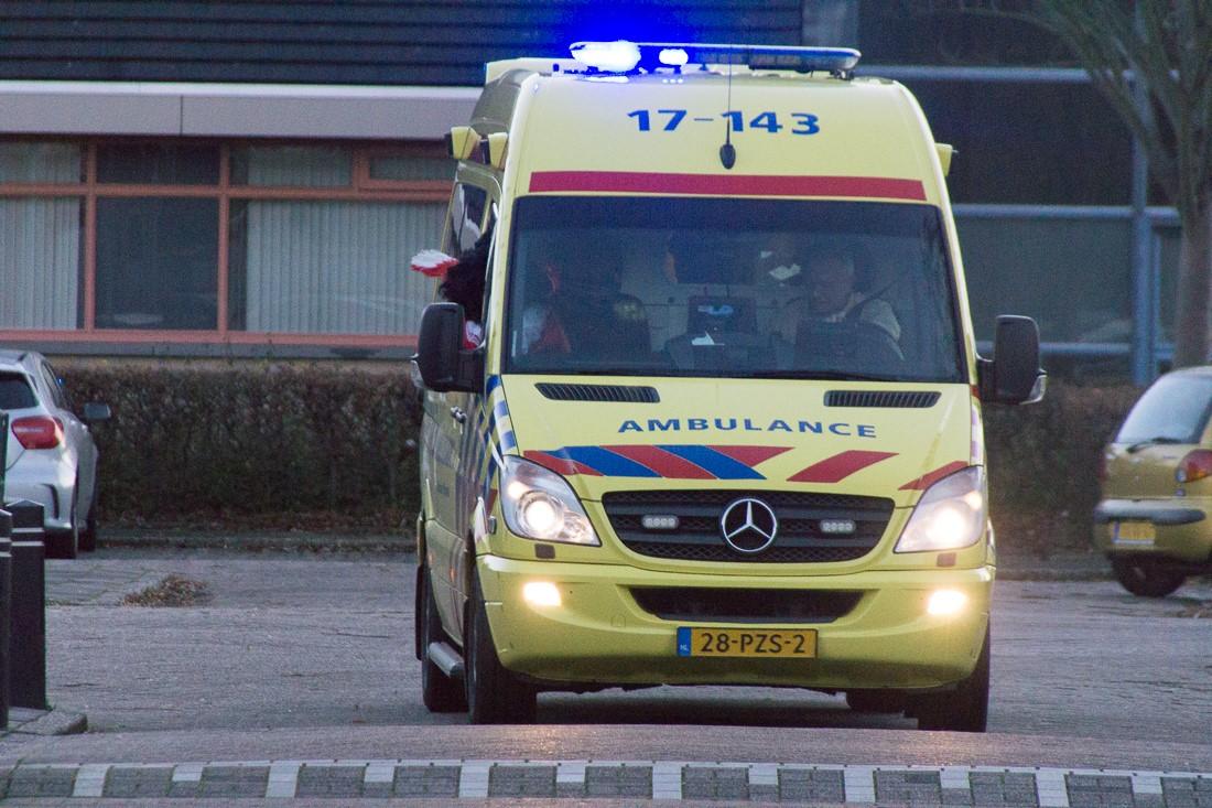 Sinterklaas aankomst bij OBS De Draaimolen Bachlaan 2.jpg