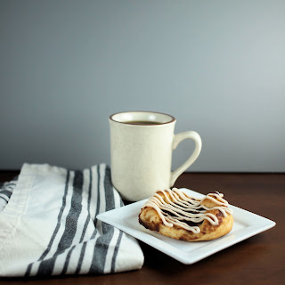 Apple Butter Danish with Cinnamon Cream Cheese Glaze