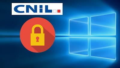 Windows 10 - Vie privé - CNIL
