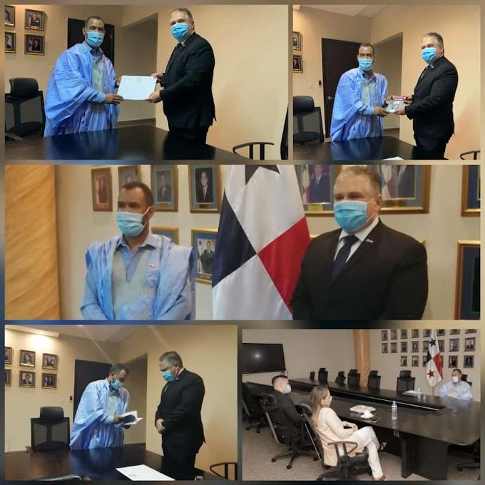 """Asamblea Nacional de Panamá reafirma los """"lazos de amistad y cooperación"""" con la República Saharaui."""