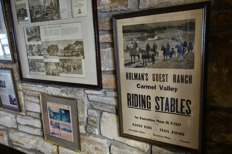 Historic documents at Holman Ranch