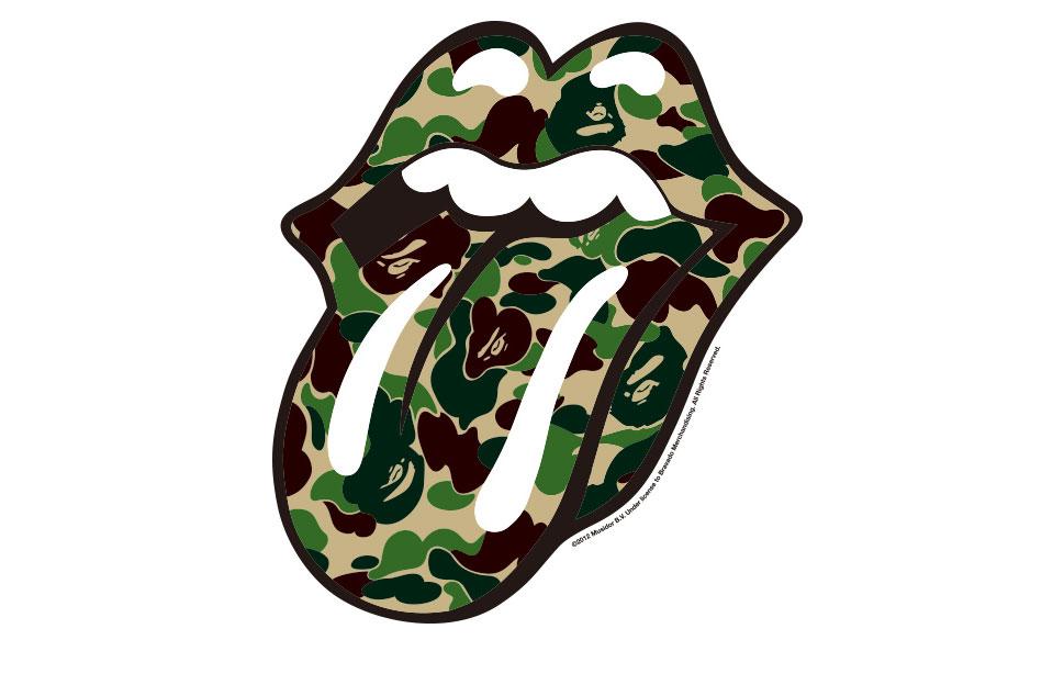 *滾石樂團 50周年:六大日本品牌推Lips And Tongue T-shirt 2