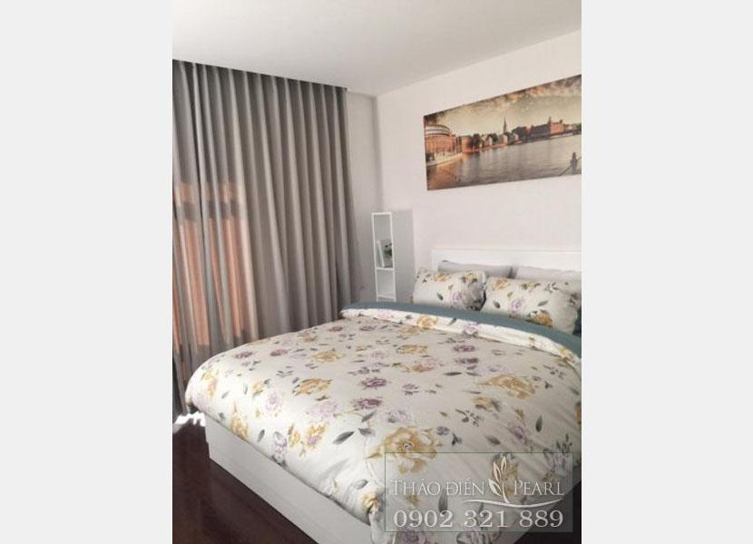 phòng ngủ tại căn hộ thảo điền pearl 115m2