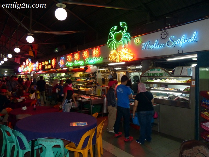 Top Spot Seafood Centre, Kuching
