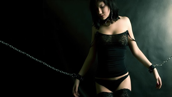 BDSM Girl Cuffed [Banner]