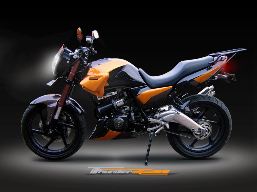 Thunder 125 Modifikasi Chopper