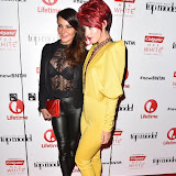 OIC - ENTSIMAGES.COM - Lizzie Cundy and Hatty Keane at the  Britain's Next Top Model - UK TV premiere airing tonight at 9pm on Lifetime in London 14th January 2016 Photo Mobis Photos/OIC 0203 174 1069