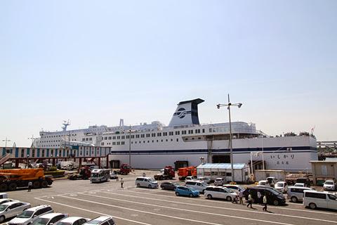 太平洋フェリー「いしかり」 名古屋港到着