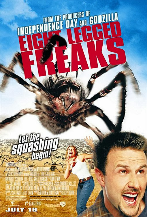 Poster Of Eight Legged Freaks (2002)Full Movie Hindi Dubbed Free Download Watch Online At Alldownloads4u.Com