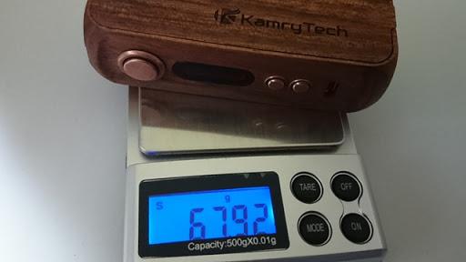 DSC 2222 thumb%25255B2%25255D - 【MOD】「Kamry 80W UTC ウッドBOX MOD」驚異のカムリー超コンパクト軽量MODレビュー!!軽いだけ、、いやそんなはずは、、【電子タバコ/軽量MOD】