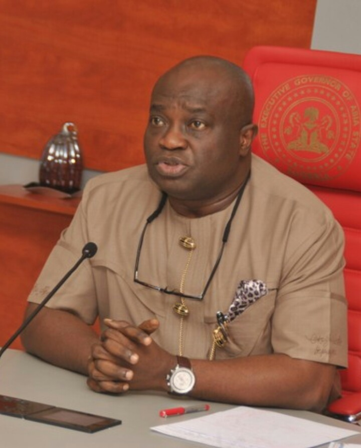 NIGERIAiREPORTER: Don't Panic , I Remain Your Governor