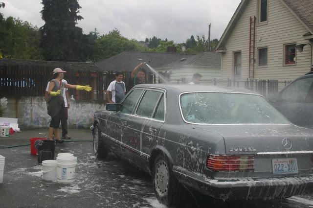 Tibetan Sunday School: Car Wash Fundraiser - IMG_4293.JPG