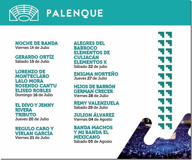 Venta de boletos para palenque Feria Nacional DUrango 2017 ve la cartelera