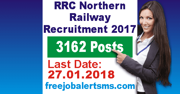 RRC Northern Railway Apprentice