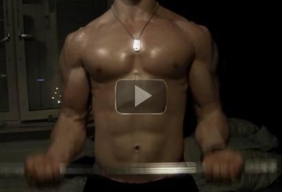 Pumping Biceps :)
