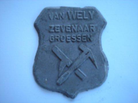Naam: van WelyPlaats: Zevenaar/ GroessenJaartal: 1950
