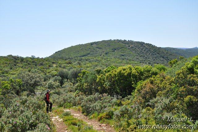 Sierra de las Cabras y Garganta de Bogas